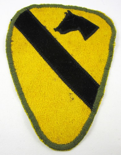 1st Cavalry Patch 1a