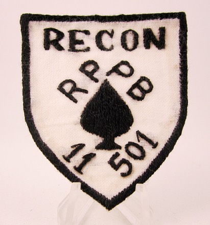 501st 101st Recon Patch 1a