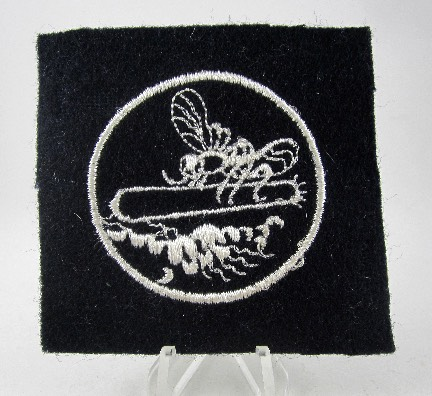Navy Blue Torpedo Boat Patch