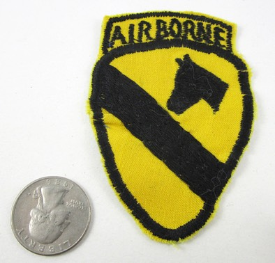 Small 1st Cavalry Airborne Patch 1a