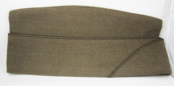Wool Officer Overseas Cap 1a